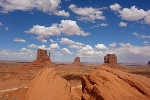 Monument Valley Mittens